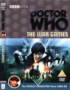 The War Games Region 2 DVD Cover