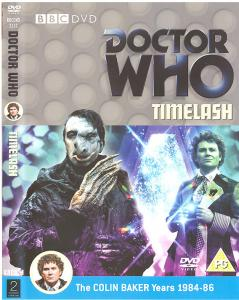 Timelash Region 2 DVD Cover