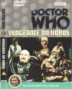 Vengeance on Varos Region 2 DVD Cover