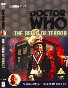 Region 2 DVD cover for The Reign of Terror