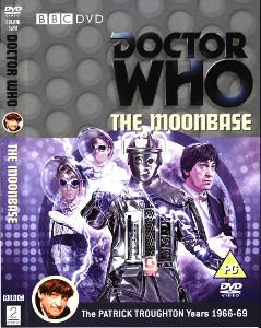 Region 2 DVD cover for The Moonbase