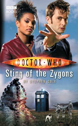 Sting of the Zygons hardback cover