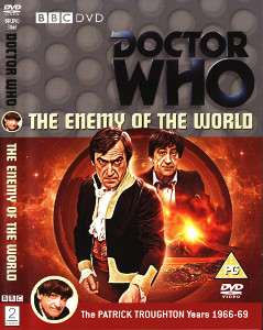 Region 2 DVD cover for The Enemy of the World